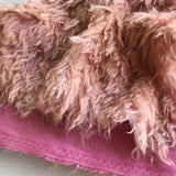 Eddie Long Shaggy Mohair - Hand Dyed Rosewood - Fat 1/4m - OCT151