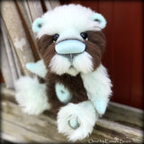 Orris - 10in Brand NEW alpaca artist bear by Emmas Bears - OOAK