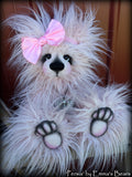 Persia - 16IN fluffy pink faux fur artist bear by Emmas Bears - OOAK