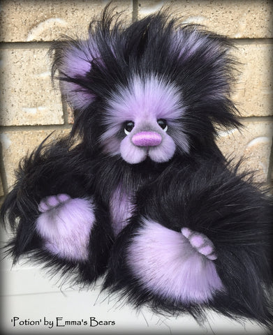 "KITS - 11"" Potion faux fur bear"