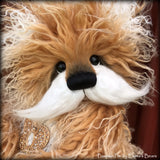 "KITS - 15"" Pumpkin Pie faux fur Bear"