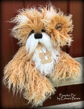 "Pumpkin Pie - 15"" faux fur Artist Bear by Emma's Bears - OOAK"