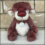 Quest - 20 Years of Emma's Bears Commemorative Teddy - OOAK in a series