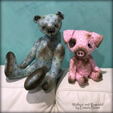 "Reginald - 13"" COTTON Artist Bear by Emmas Bears - OOAK"