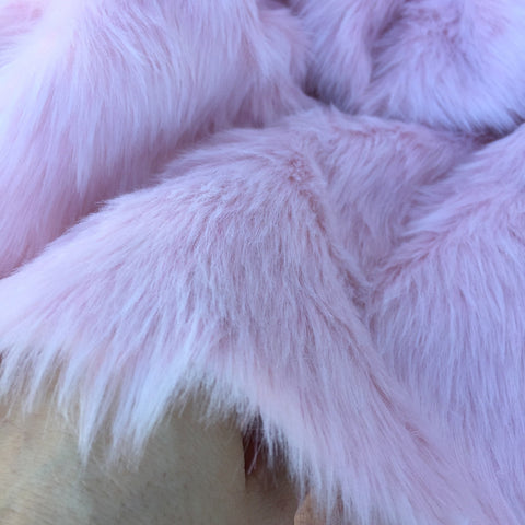 Rosewater - pale pink budget Faux Fur - 2K17