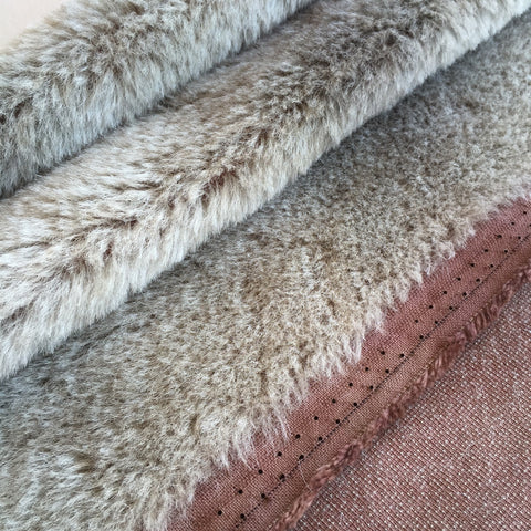 Medium Alpaca Frosted Choc - Fat 1/4m  - S053