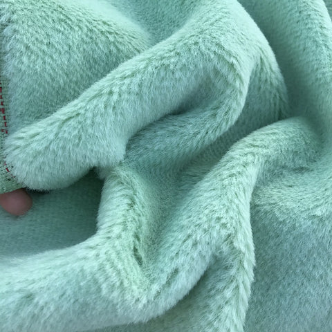 Alpaca - Short Pile - Snow Pea Green