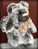 "Sir Fluffybutt - 16"" faux fur Artist Bear by Emma's Bears - OOAK"