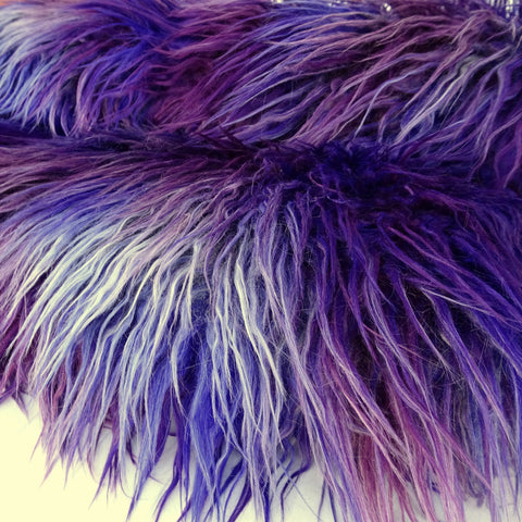 Smashed Berry - stunning multi tonal Faux Fur - 2K17