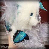 Sonnet Stargazer - 9in mohair and alpaca fairy Artist Bear by Emmas Bears