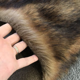 NEW Timber Wolf - Dense Tipped Faux Fur