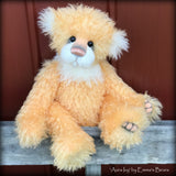 Toddler Aura Ivy - 17in hand-dyed MOHAIR Artist toddler style Bear by Emma's Bears - OOAK