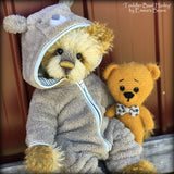Basil Harley - 22in MOHAIR Artist toddler style Bear by Emmas Bears - OOAK
