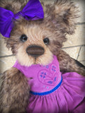 You choose the name and gender - 22in MOHAIR Artist toddler style Bear by Emmas Bears - OOAK