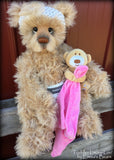 Toddler Lacey-Lou - 21in MOHAIR Artist toddler style Bear by Emmas Bears - OOAK
