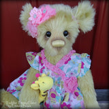Toddler Trinity Claire - 20in MOHAIR Artist toddler style Bear by Emmas Bears - OOAK
