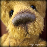Toddler Beatrice Evelyn - 21in MOHAIR Artist toddler style Bear by Emmas Bears - OOAK