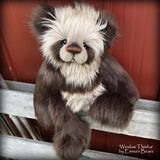 Toddler Winslow Thimba - 20in faux fur Artist toddler style Bear by Emma's Bears - OOAK