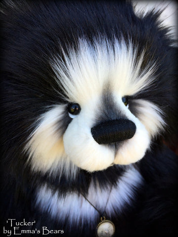 Tucker - 16IN super fluffy artist bear by Emmas Bears - OOAK