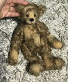 "KITS - 10"" Well Loved 'Walter' Mohair Artist Bear by Emma's Bears"
