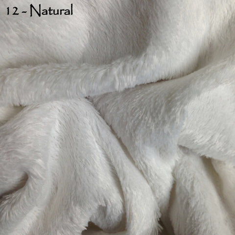 Standard Viscose - Natural Ivory White