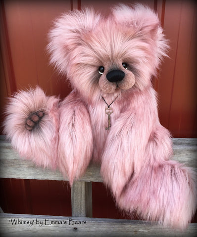 "KITS - 20"" Whimsy faux fur bear"