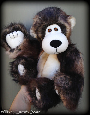 "Digital PATTERN - 14"" Chubby Cheek Bear"