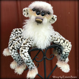 "Wincy - 14"" special Halloween Artist Spider-Bear by Emma's Bears - OOAK"