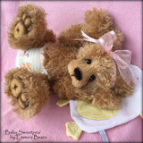 "Digital PATTERN - 18"" Sweetpea Newborn Baby Bear"