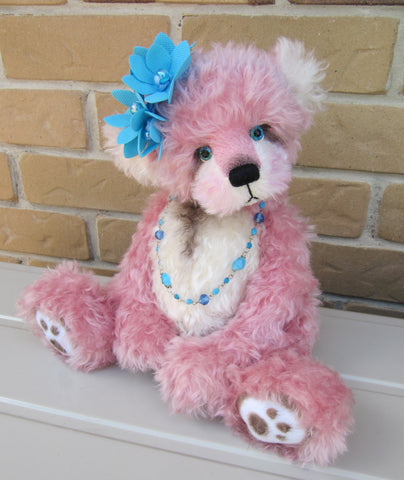 "KITS - 15"" Bambina Kid mohair bear"