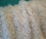 Blanc De Blanc - Extra Curly Mongolian Style Faux Fur