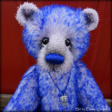 "Blu - 9"" mohair bear by Emmas Bears - OOAK"