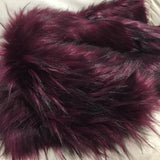 Boysenberry - rich tufted and tipped Faux Fur - 2K17