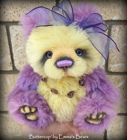 "PATTERN - 9"" Willa/Attila duo bear/bunny design"