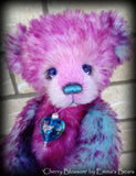 Cherry Blossom - 11IN hand dyed bear by Emmas Bears - OOAK