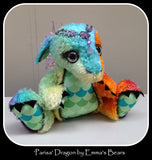 KITS - Dragon Kit with Hand-Dyed Curly Viscose - MG027