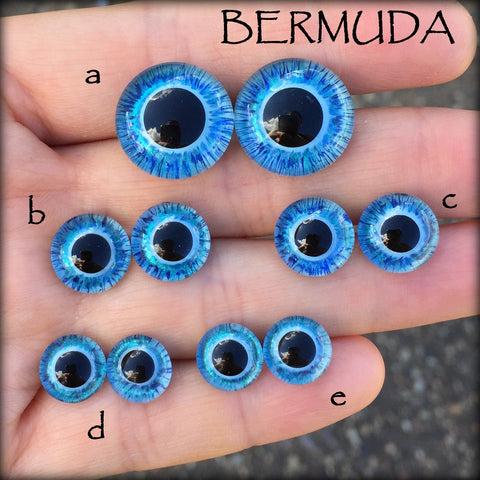 Hand Painted Eyes - Bermuda