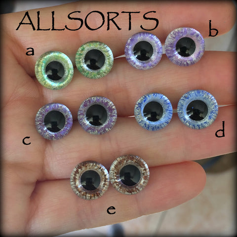 Hand Painted Eyes - Allsorts