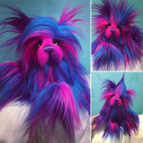 "KITS - 12"" Firework faux fur bear"