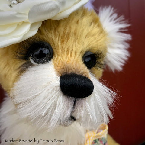 Madam Reverie - 16in MOHAIR Bear by Emmas Bears - OOAK