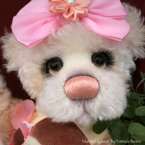 Marisol Sabine - 16in Kid MOHAIR Artist Baby Bear by Emmas Bears - OOAK