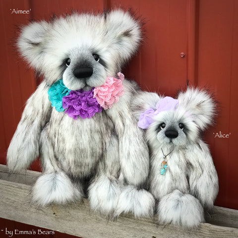 "KITS - DOUBLE pack - 18"" Aimee AND 12"" Alice bear kits"