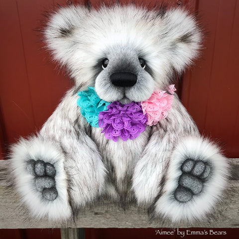 "KITS - 18"" Aimee Faux Fur bear"