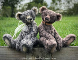 "Edward - 20"" mohair artist bear by Emmas Bears - OOAK"