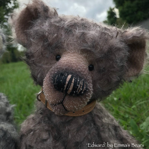 "KITS - 20"" Edward mohair bear"