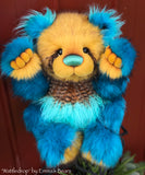 "KIT - 24"" Faux Fur Bear 'Wattledrop'"