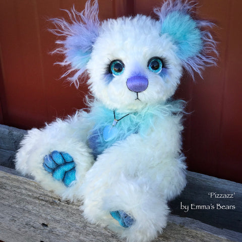"Pizzazz - 12"" Alpaca and Mohair Artist Bear by Emma's Bears - OOAK"