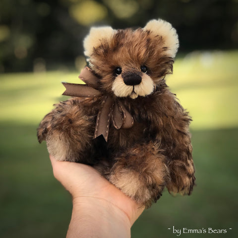 "Kenai - 8"" Kid Mohair Artist Bear by Emma's Bears - OOAK (CUSTOM ORDER)"