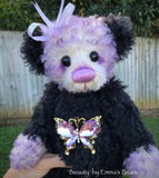 "Beauty - 12"" Kid Mohair Artist Bear by Emma's Bears - OOAK"