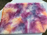 Long Alpaca - Hand Dyed SUNSET - Fat 1/4m - AUG013